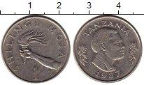Изображение Монеты Танзания 1 шиллинг 1987 Медно-никель XF Факел
