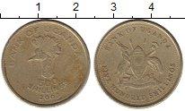 Изображение Монеты Уганда 500 шиллингов 2003 Латунь VF