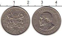Изображение Монеты Африка Кения 50 центов 1969 Медно-никель XF