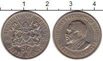 Изображение Монеты Африка Кения 50 центов 1971 Медно-никель XF