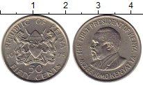 Изображение Монеты Кения 50 центов 1975 Медно-никель XF