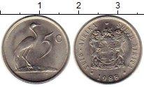 Изображение Монеты Африка ЮАР 5 центов 1988 Медно-никель UNC-
