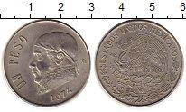 Изображение Монеты Мексика 1 песо 1974 Медно-никель XF