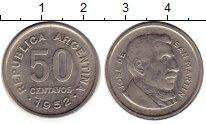 Изображение Монеты Южная Америка Аргентина 50 сентаво 1952 Медно-никель XF