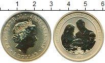 Изображение Мелочь Австралия 1 доллар 2015 Латунь UNC Елизавета II Рождени