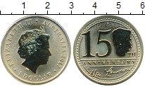 Изображение Мелочь Австралия и Океания Австралия 1 доллар 2017 Латунь UNC