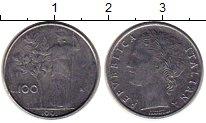 Изображение Монеты Европа Италия 100 лир 1991 Сталь XF