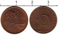 Изображение Монеты Азия Турция 5 куруш 1973 Бронза XF