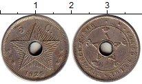 Изображение Монеты Бельгия Бельгийское Конго 5 сантим 1925 Медно-никель XF