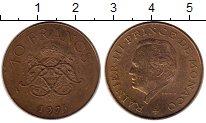 Изображение Монеты Европа Монако 10 франков 1975 Бронза XF+