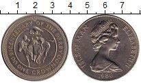 Изображение Монеты Великобритания Остров Мэн 1 крона 1980 Медно-никель XF