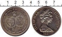 Изображение Монеты Великобритания Остров Мэн 1 крона 1981 Медно-никель XF