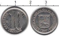 Изображение Монеты Венесуэла 10 сентим 2007 Медно-никель XF