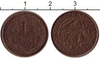 Изображение Монеты Нидерланды 1 цент 1922 Бронза XF