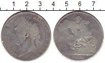 Изображение Монеты Европа Великобритания 1 крона 1822 Серебро VF