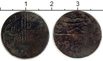 Изображение Монеты Азия Турция 1 мангир 1687 Медь VF