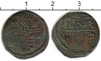 Изображение Монеты Турция 1 мангир 1687 Медь VF Сулейман II