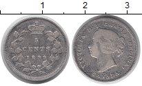 Изображение Монеты Канада 5 центов 1899 Серебро VF