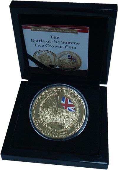 Изображение Подарочные монеты Тристан-да-Кунья 5 крон 2016 Медно-никель Proof