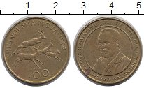 Изображение Монеты Африка Танзания 100 шиллингов 1994 Латунь VF
