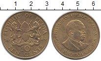 Изображение Монеты Африка Кения 10 центов 1984 Латунь XF