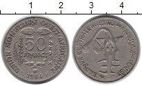 Изображение Монеты Западная Африка 50 франков 1984 Медно-никель XF
