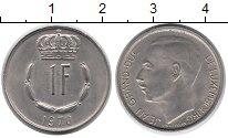 Изображение Монеты Люксембург 1 франк 1970 Медно-никель XF Великий  Герцог  Жан