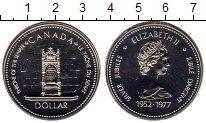 Изображение Монеты Северная Америка Канада 1 доллар 1977 Серебро UNC