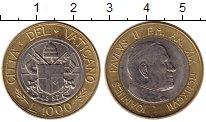 Изображение Монеты Европа Ватикан 1000 лир 1997 Биметалл UNC-