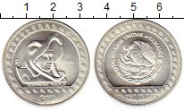 Изображение Монеты Мексика 50 песо 1992 Серебро UNC-