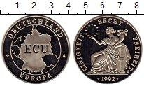 Изображение Монеты Европа Германия 1 экю 1992 Медно-никель UNC