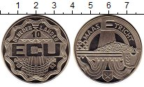 Изображение Монеты Европа Нидерланды 10 экю 1993 Медно-никель UNC