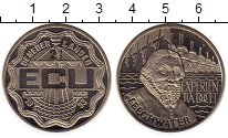 Изображение Монеты Нидерланды 2 1/2 экю 1993 Медно-никель UNC Ян Лигуотер