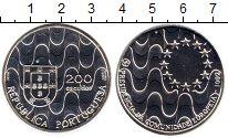 Изображение Монеты Европа Португалия 200 эскудо 1992 Серебро UNC