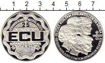 Изображение Монеты Нидерланды 25 экю 1992 Серебро Proof 12,5 лет Коронации Б