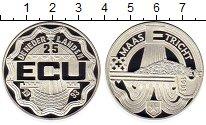 Изображение Монеты Европа Нидерланды 25 экю 1993 Серебро Proof