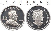 Изображение Монеты Канада 15 долларов 2008 Серебро Proof