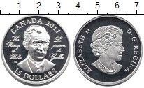 Изображение Монеты Канада 15 долларов 2011 Серебро Proof Принц Уэльса