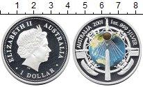 Изображение Монеты Австралия 1 доллар 2001 Серебро Proof