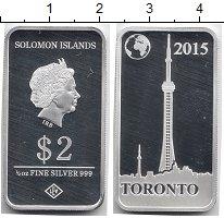 Изображение Монеты Австралия и Океания Соломоновы острова 2 доллара 2015 Серебро Proof