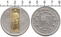 Изображение Монеты Европа Андорра 20 динерс 1993 Серебро UNC