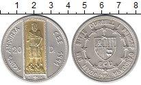 Изображение Монеты Европа Андорра 20 динерс 1994 Серебро UNC