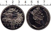 Изображение Монеты Гибралтар 2,8 экю 1994 Медно-никель UNC-
