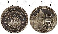 Изображение Монеты Африка Либерия 10 долларов 2005 Медно-никель UNC-