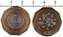 Изображение Монеты Африка Кабо-Верде 100 эскудо 1994 Биметалл UNC-