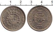 Изображение Монеты Тимор 5 эскудо 1970 Медно-никель XF