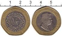 Изображение Монеты Азия Иордания 1/2 динара 2008 Биметалл XF