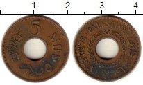 Изображение Монеты Палестина 5 милс 1942 Бронза XF-