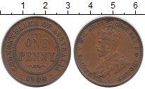 Изображение Монеты Австралия и Океания Австралия 1 пенни 1934 Бронза XF