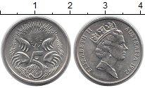 Изображение Монеты Австралия и Океания Австралия 5 центов 1992 Медно-никель XF